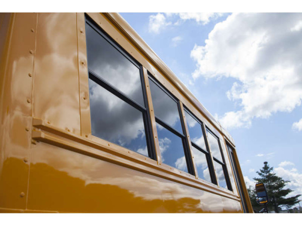 School Bus Windows
